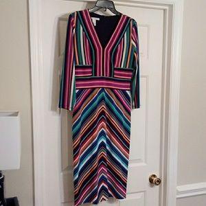 Maggy London Fall Career Dress Sz 8